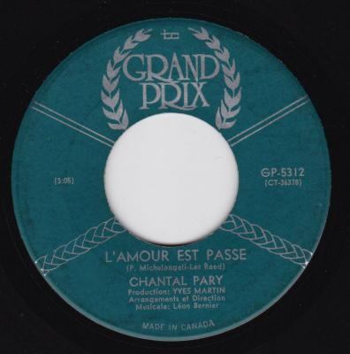 Chantal Pary - L'Amour Vient, L'Amour Va