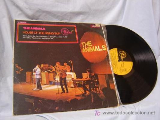 Animals eric burdon the house of the rising sun les vinyls du site vinyls - Collection disque vinyl ...